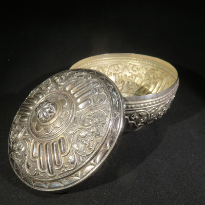 1532 boite argent radjasthan XIXe
