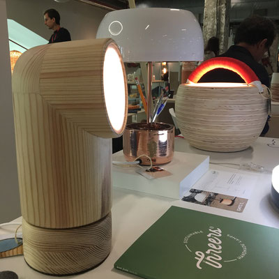 luminaires Threers - coup de coeur Paris Design Week 2017 - @cprqct