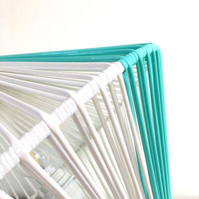 Lampe DoScoubi Small vert pastel détail - @cprqct