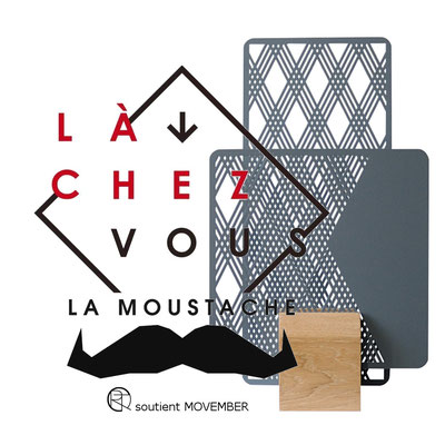 lampe Totem - luminaire - fondation movember - @cprqct