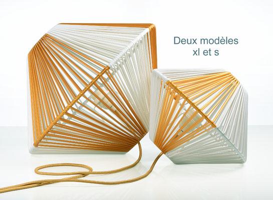 Lampe DoScoubi deux modèles S et XL catalogue - @cprqct