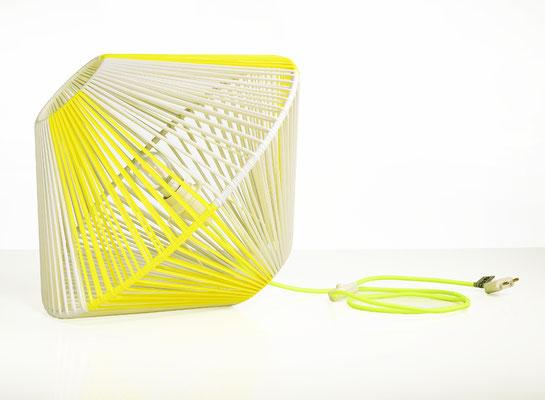 Lampe DoScoubi XL jaune fluo catalogue - @cprqct