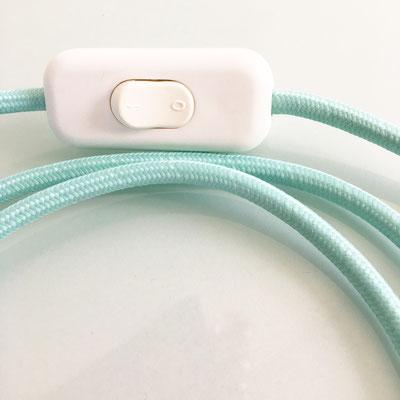 Lampe DoScoubi XL vert pastel détail - @cprqct