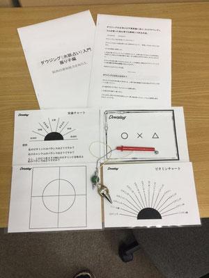 測定に使うチャート&テキスト