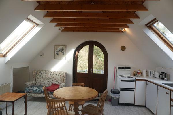 Livingroom/kitchenette (small apartment)