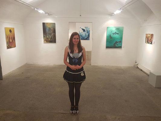 Kunstausstellung mit Künstlerin Sabrina Haeber, Müllerhaus Lenzburg 5600. 3.9 - 10.9. 2016