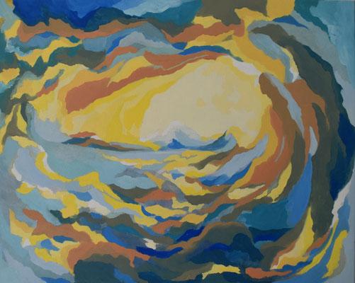 Wasser und Licht, 57 x 71 cm. öl auf Leinwand. 850 CHF.