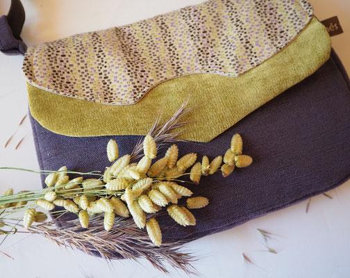 sac à main en tissu création textile Ines Cano
