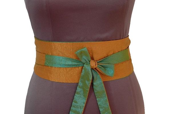 ceinture en tissu création textile Ines Cano