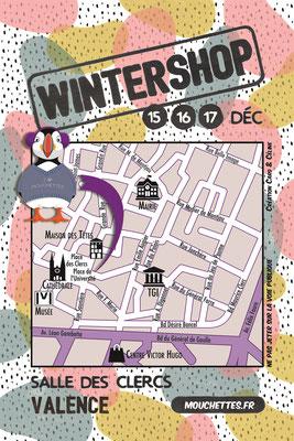 wintershop les mouchettes valence exposition artisanale creation textile ines cano