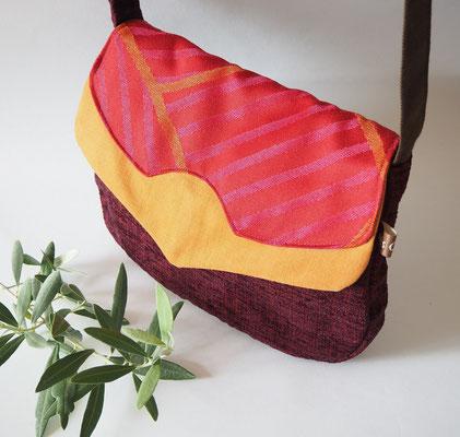 sac à main tissu creation textile Ines Cano