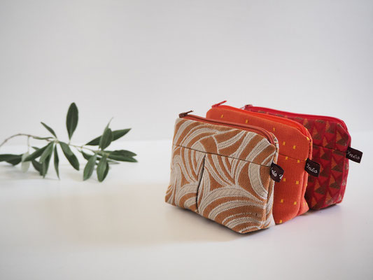 porte monnaie en tissu creation textile Inés cano