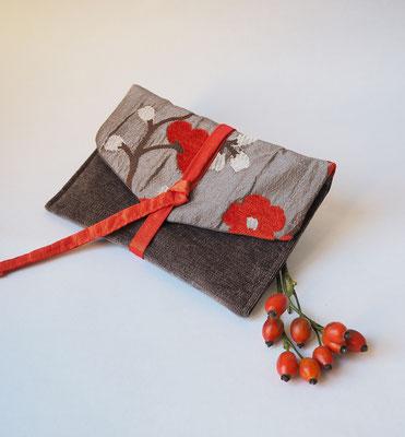 pochette tissu creation textile Ines Cano