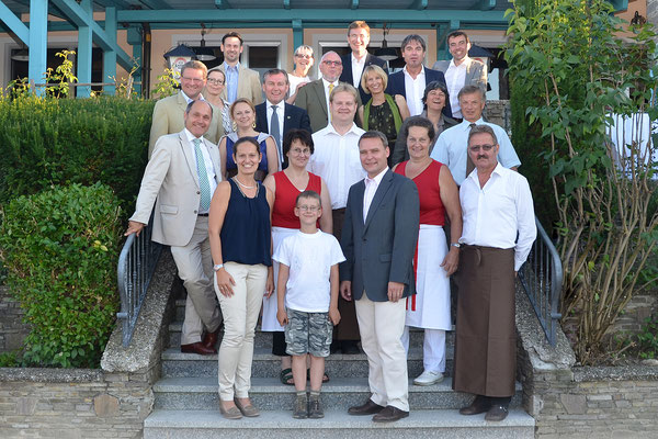 Geburtstag von unserem Schwager Johannes Kern mit seinen geladenen Freunden