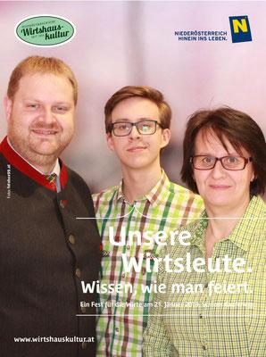 25 Jahre Mitglied bei NÖ Wirtshauskultur - Jänner 2019