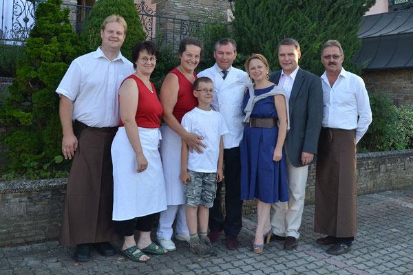 2013: 40. Geburtstag von unserem Schwager Johannes Kern mit Eva und Toni Mörwald