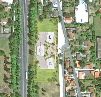 Plan de masse 2013 - Projet