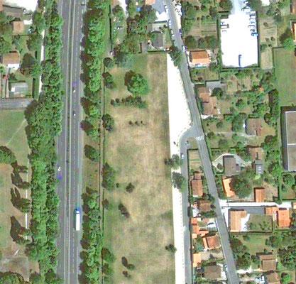 Photo aérienne 2012- avant projet