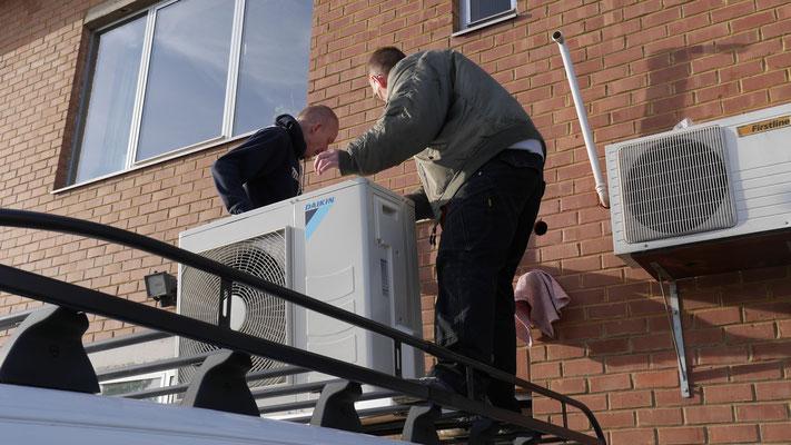 Installation climatisation Brabant Wallon