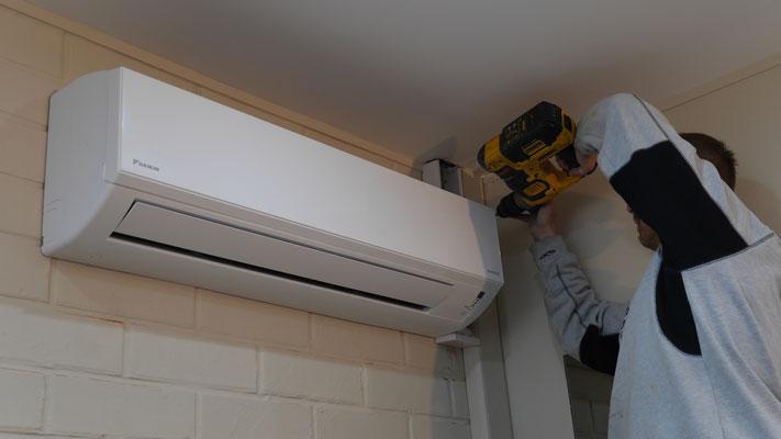 Installation airco brabant wallon