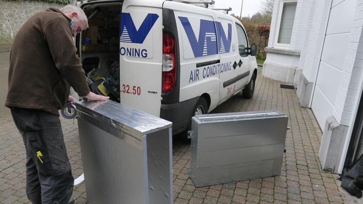 Système airconditionné intégré VDV