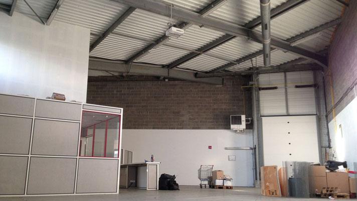 chauffage industriel hall