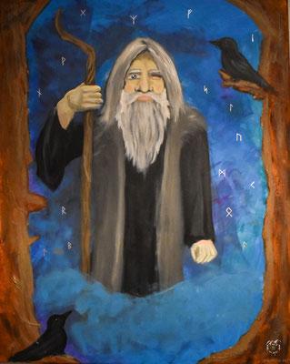 Odin und das alte Futhark