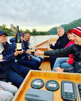 Weinriedenwanderungen auf der Donau