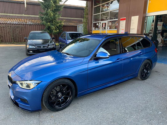 BMW mit Advan RS2 Wheels.👍🏁