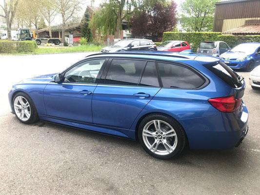 BMW F31 mit neuem Fahrwerk und Aeroteile.👍