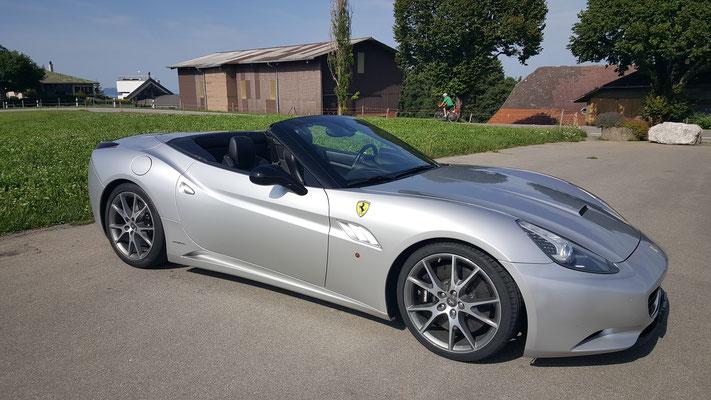 Ferrari California offen, Bild vom Kunden.
