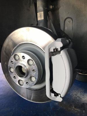 TIP-Tuning Audi S3 Bremszangen Lackiert.