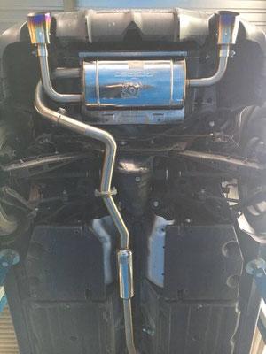 TIP-Tuning Subaru BRZ mit GT Spec Auspuffanlage ab Kat.