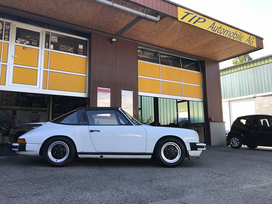 Porsche 911 Targa Projekt inkl. Veteraneneintrag abgeschlossen.