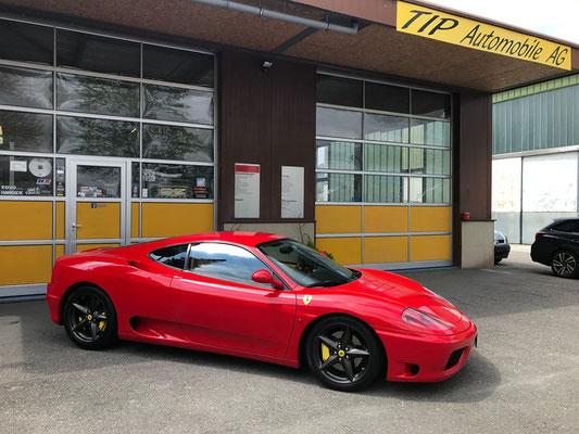 Ferrari F360 Modena ab grossem Service