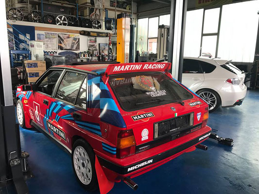 Projekt Lancia Delta HF Integrale....