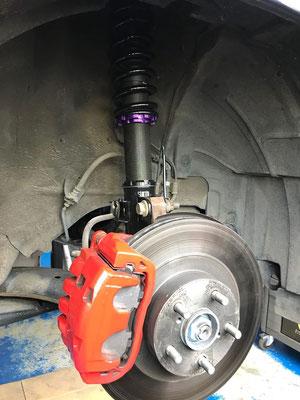 TIP-Tuning Forester Turbo mit D2 Gewindefahrwerk und Advan Racing GT Felgen!😉
