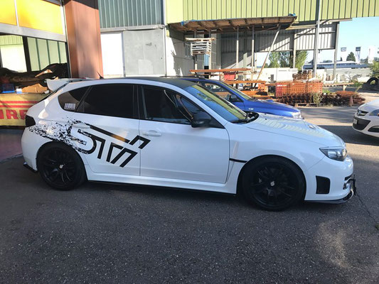 WRX STI Hatchback....