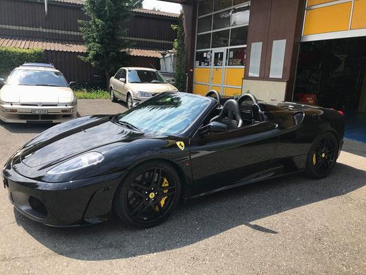 Ferrari F430 Spider! Wieder bereit für auf die Strassen.
