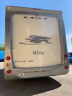 Fiat Laika Camper für Service und MFK.