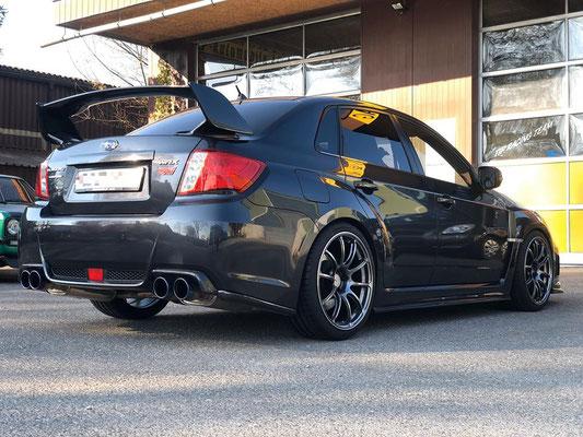 Schöner Subaru WRX STI ab grossem Service und neuen Reifen.😍🏁👍