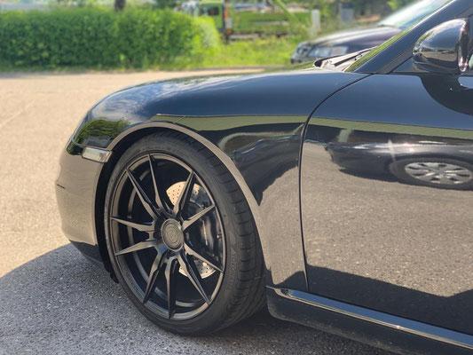 Porsch 911/997 Cabrio ab Service & Lenkgeometrie.