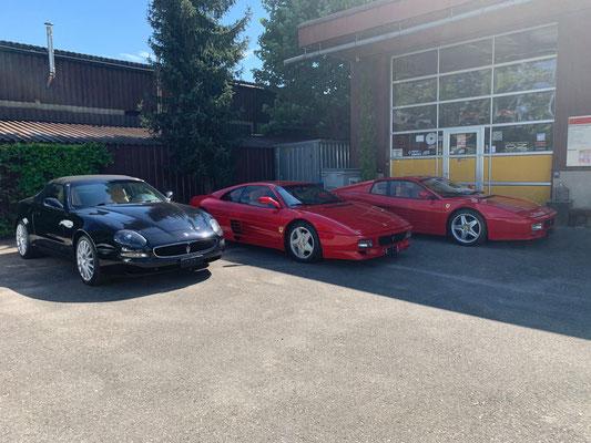 Ferrari 512TR, Ferrari 348 GTB, Maserati Spyder bereit für Sommer 2020.