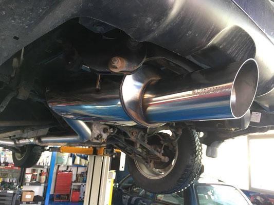Subaru Forester Turbo mit R1-Auspuffanlage ab Kat.👍
