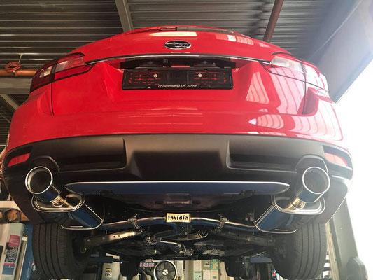 TIP-Tuning Subaru Levorg mit Invidia Q300 Sportauspuffanlage!