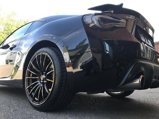 TIP Tuning Subaru BRZ mit Weds Sport SA-15R Wheels!