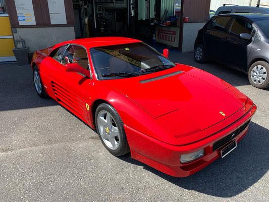 Ferrari 348 GTB ab Zahnriemen-Service und MFK.