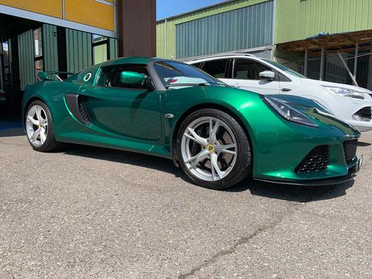 Lotus Exige S V6 ab Service.🏁👍