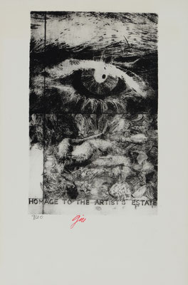 HORRORS OF PEACE - HOMMAGE TO THE ARTIST'S ESTATE (1965)  - ENGRAVING