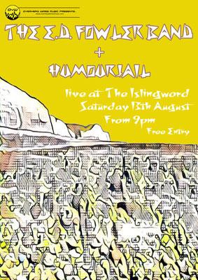 Gig Poster #486 - 13/08/16